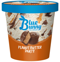 Blue Bunny Pint Peanut Butter Party