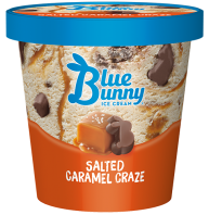 Blue Bunny Pint Salted Caramel Craze