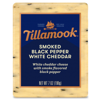 Tillamook Deli Cut Smoked Black Pepper White Cheddar