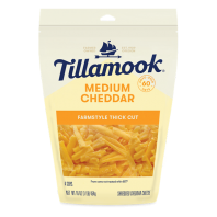 Tillamook Shredded Medium Cheddar