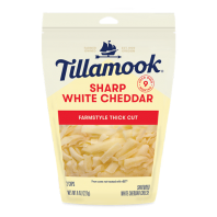 Tillamook Shredded Sharp White Cheddar