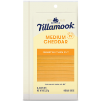 Tillamook Single Slices Medium Cheddar