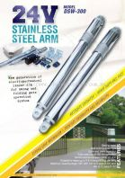 Dsw-300 ( 24v stainless steel arm )