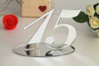 Acrylic Mirror Numbering