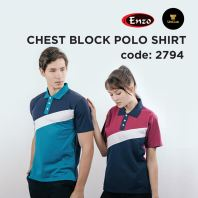 2794 Chest Block Polo T-shirt