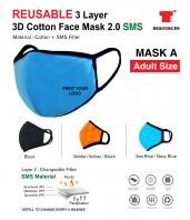Reusable Face Mask A (Adult Size)