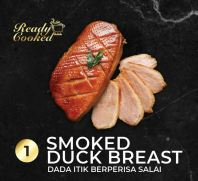 READY COOKED SMOKED DUCK BREAST
