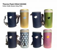 Thermo Flask 60268 with Pouch (Keep Warm 12 Hrs)