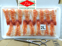 Sushi Ebi / Shrimp for Sushi Topping (Halal Certified)