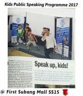 Kids Public Speaking by Johan Speaking Academy