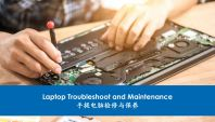 Laptop Troubleshoot and Maintenance