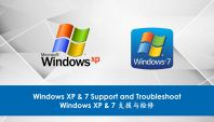 Windows XP & 7 Support and Troubleshoot