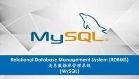 Relational Database Management System RDBMS (MySQL)