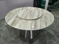 Modern Marble Dining Table - Volakas Marble