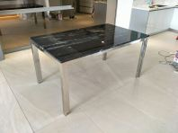 Black Marble Dining Table - Nero Bella Marble