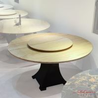 8 Seaters Round Marble Dining Table