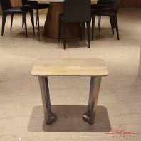 Blue Travertine | Marble Side Table | Cash & Carry