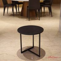 St Laurent | Round Marble Side Table (matt-finished) | Cash & Carry