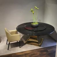 Luxury Black Marble Table | Black Marquina | 10 Seaters