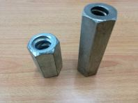 Steel Hex Long Nut D15/ 100 or 50