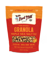 Pan-Baked Granola Maple Sea Salt