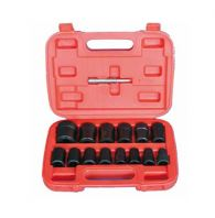 "TMSK11-30115M - 15PC 1/2"" DR. TWIST SOCKET SET - 10 TO 17MM & 3/4"" TO 1-13/16"""
