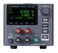 E36102B DC Power Supply, 6V, 5A, 30W