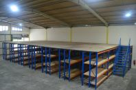 HEAVY DUTY SHELVING CW TOP FLOORING