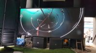 2.95m x 1.35m P4 INDOOR LED DISPLAY BOARD(FULL COLOR)