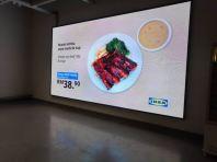 室内购物中心LED显示屏 @Ikea Cheras