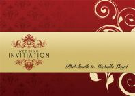 Phil Michelle Wedding Card