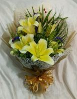 Lily Hand Bouquet (HB-1019)