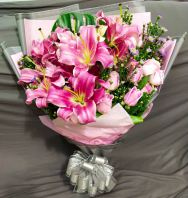 Lily and rose Bouquet HB1058 floristkl