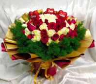 99 Red Rose with Love HB1074 floristkl