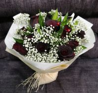 Black Rose Bouquet HB1081 floristkl