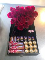Flower Box with Choc BF-1084 floristkl