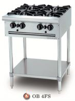 Gas Open Burner - Free Standing