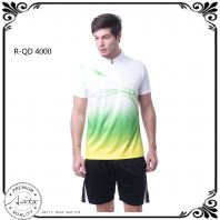 Outrefit Sublimation Standing Collar T-shirt - (Unisex) QD40