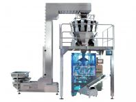 VERTICAL FORM FILL SEAL PACKING MACHINE WITH FILLING SYSTEM