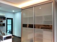 Anti-Jump System Sliding Glass Door Wardrobe