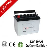 12V 60AH High Power Car Battery Dry Charge