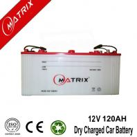 Fully Capacity 12v 120AH Dry Charged Battery For Car
