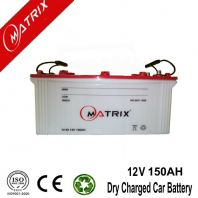 12V 150AH Dry Charged Car Battery High Performance