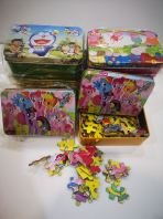 Puzzle in Metal Box ��Thick Board��