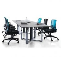 CASSIA CROSS MEETING TABLE (CHROME)