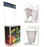 Aluminium Promotion Counter / Sampling Booth / Reusable booth