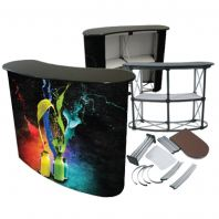 Popup Promotion Table, Portable Table, Event Table, Meja promosi