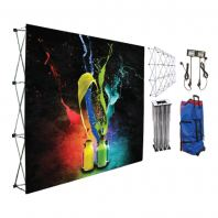 Velcro Popup Backdrop, Lightweight Backdrop, Fabric Backdrop