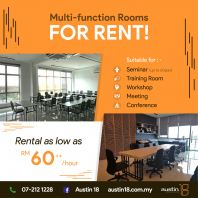 Multi-Fuction Room Available for Outsider to Rent