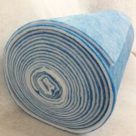 Washable Air Filter Media Rolls ( 80%-85% ) Blue & White